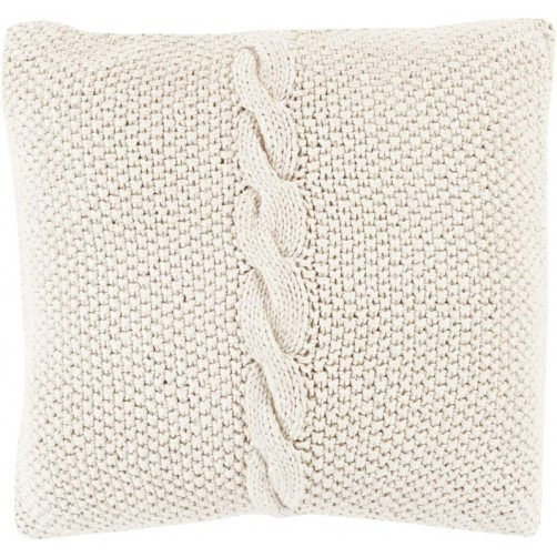 surya genevieve pillow in khaki