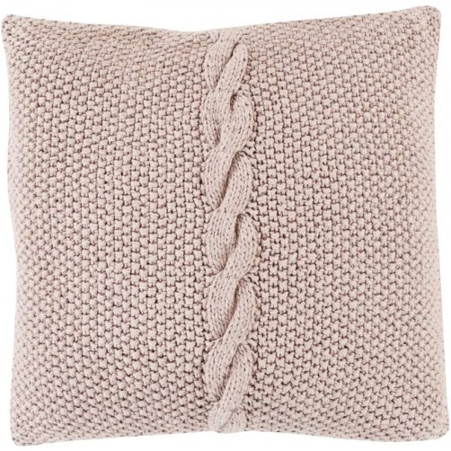 surya genevieve pillow in taupe