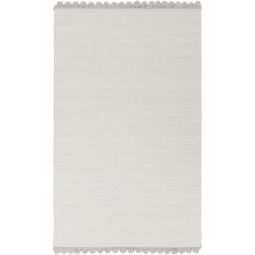 surya grace area rug, gray