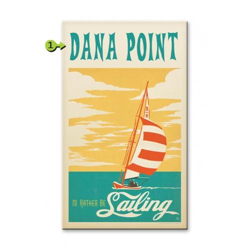 i'd rather be sailing customizable wood sign
