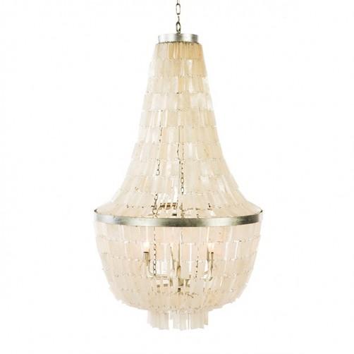 aidan gray glendive shell chandelier