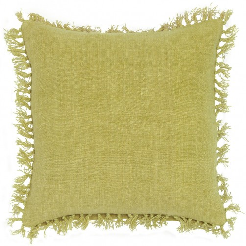 pine cone hill laundered linen citrus decorative pillow