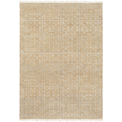 surya laural area rug, ivory