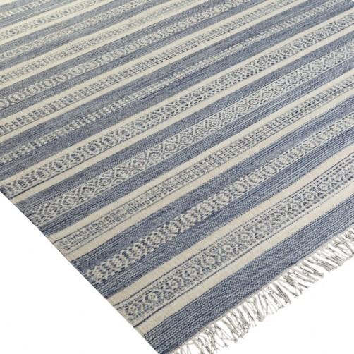 surya lawry area rug, blue