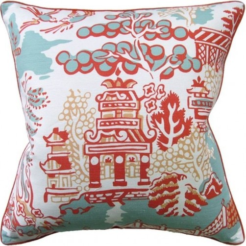 luzon coral pillow