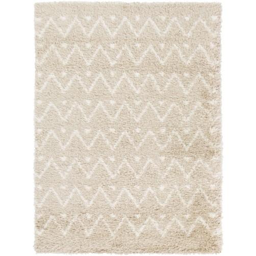 surya mercer area rug, beige