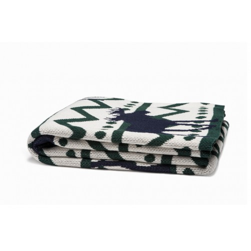 eco mod moose throw blanket