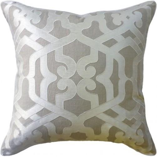 modern elegance linen pillow