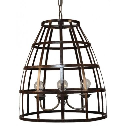 noir birdcage pendant