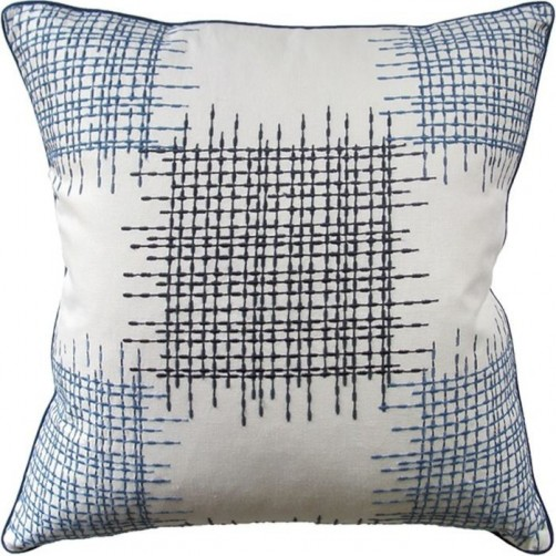 ostro indigo pillow