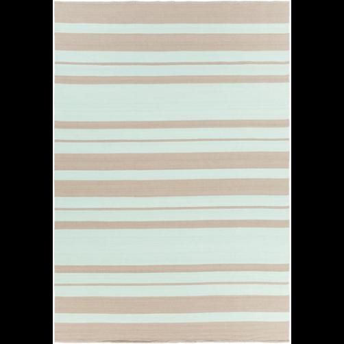 surya picnic mint & taupe polypropylene rug