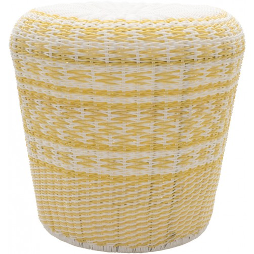surya parkdale butter outdoor stool