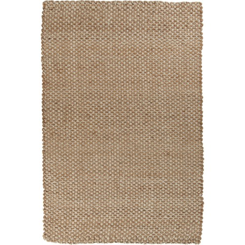 surya reeds area rug, gold and taupe