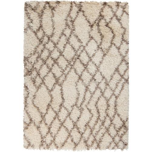 surya rhapsody area rug, ivory and mocha