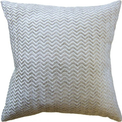 royal chevron cloud pillow