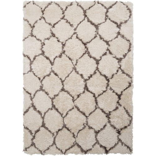 surya scout area rug, light gray