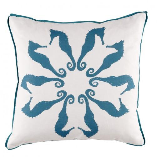 lacefield plasma flange seahorse pillow