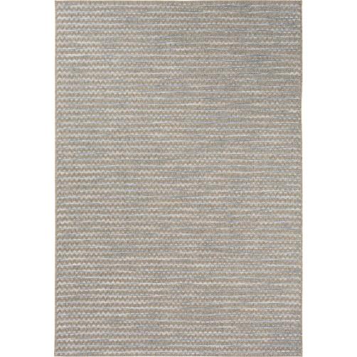surya santa cruz sky blue & taupe polypropylene rug