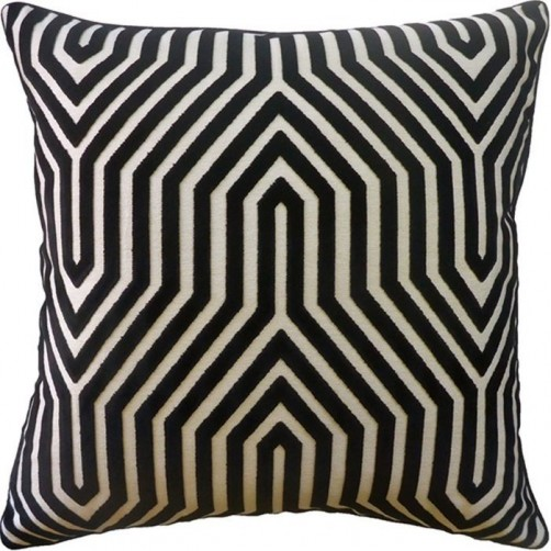 vanderbilt noir pillow