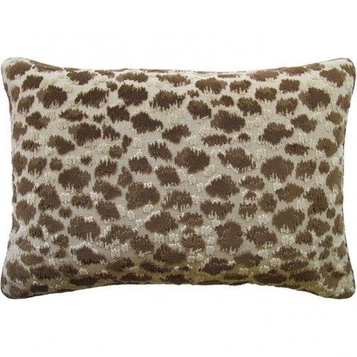 zambezi chickory bolster pillow