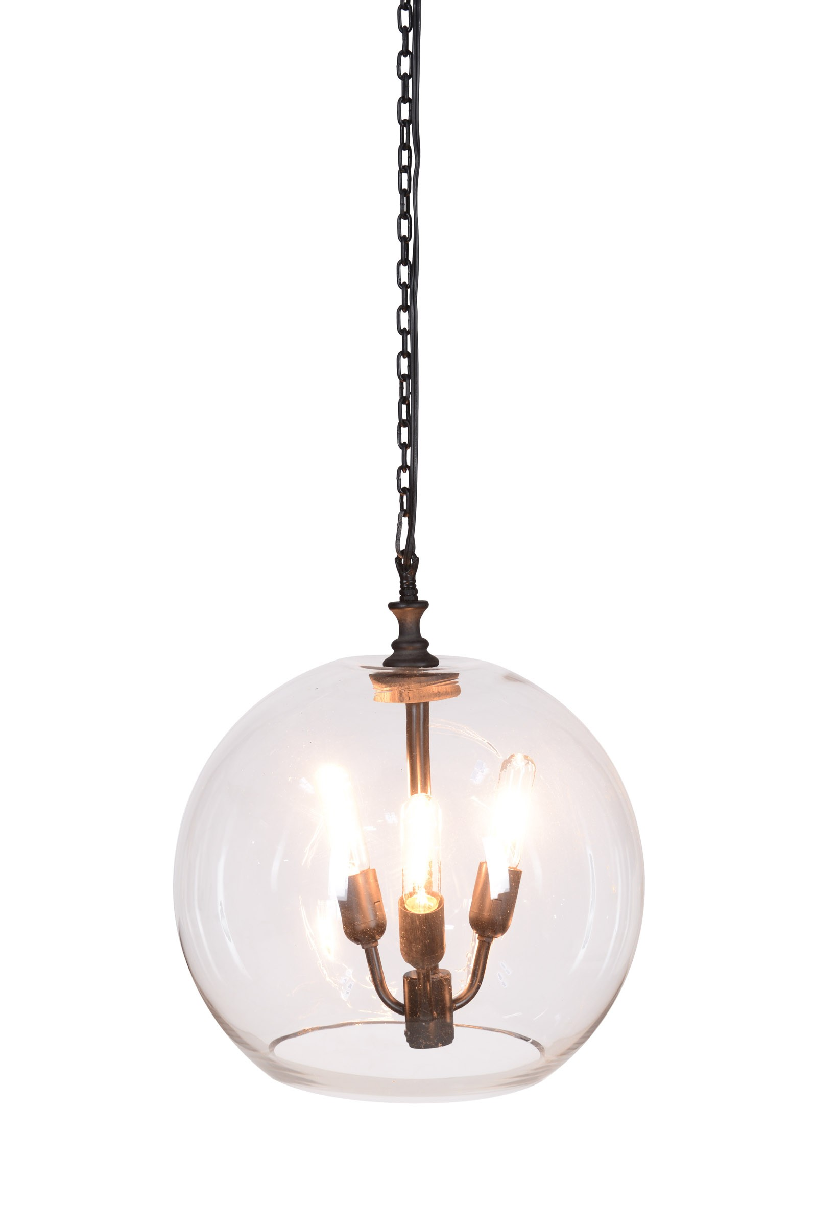 ostend glass ball chandelier Tuvalu Coastal Home Furnishings – Ball Chandelier