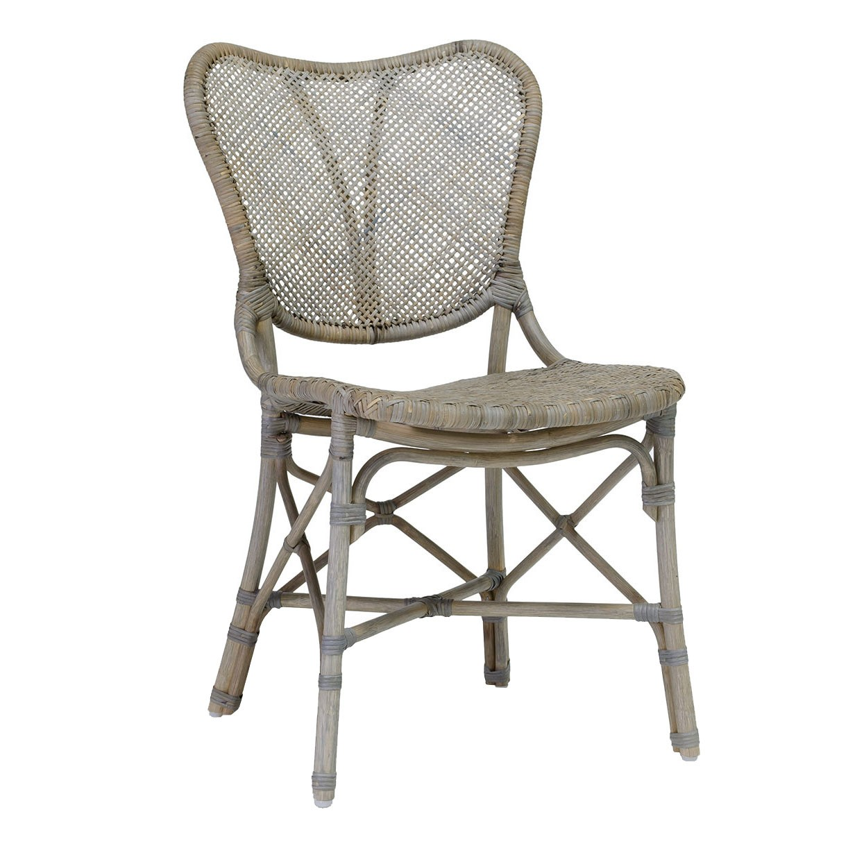 Palecek Jordan Side Chair, Grey