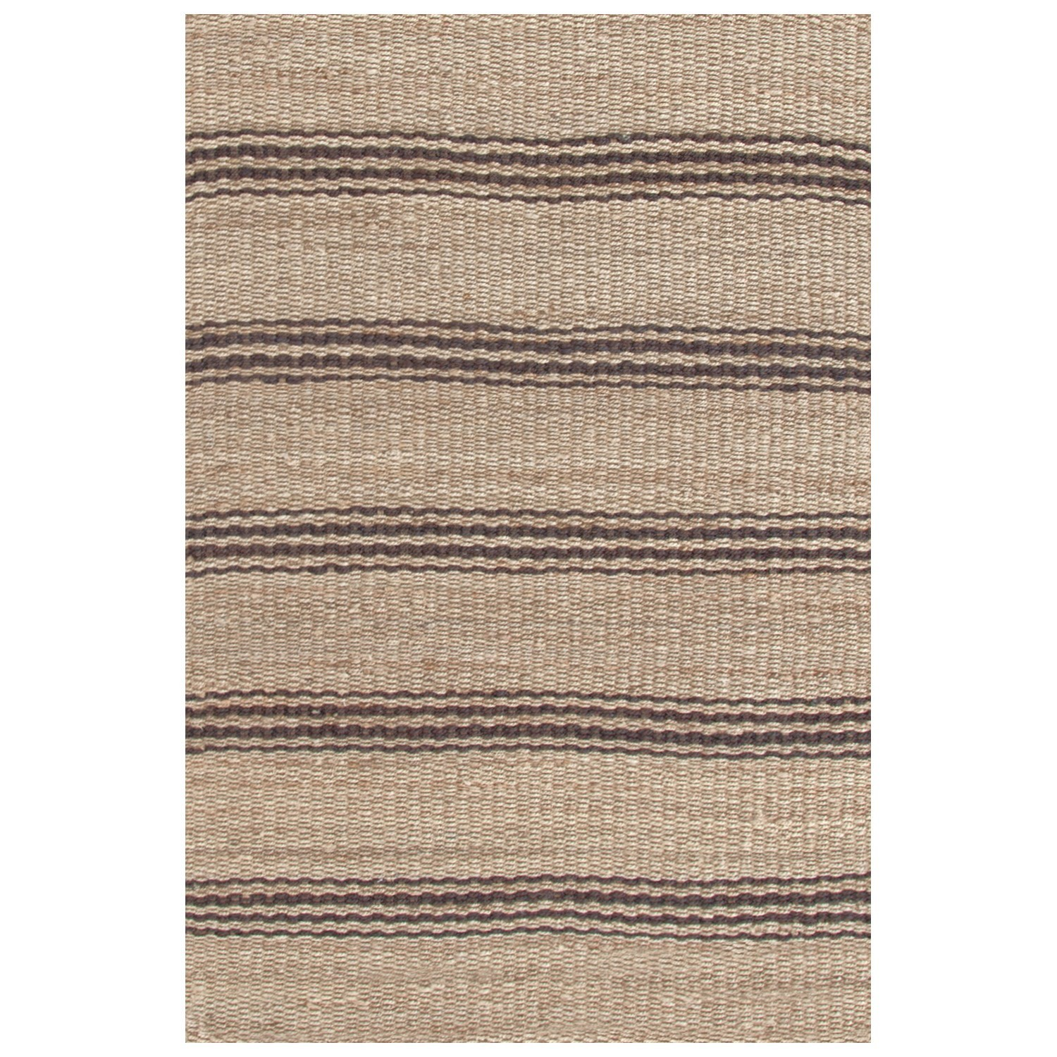 Dash Albert Jute Ticking Java Woven Rug Tuvalu Coastal Home
