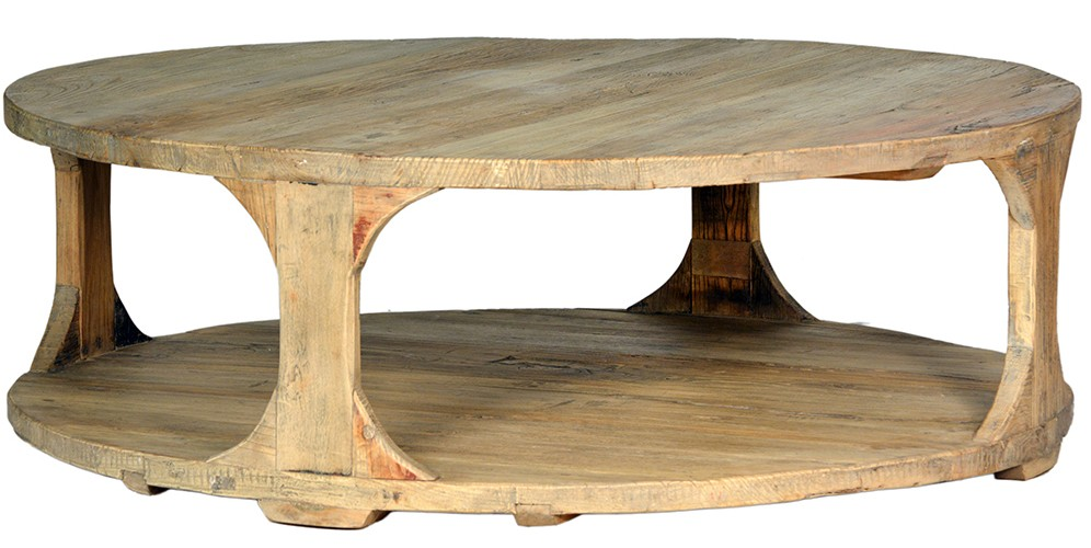 "boston 48"" round coffee table - tuvalu coastal home furnishings"