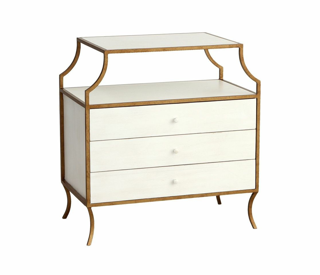 Captivating Redford House Milla Side Table W/drawers