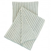 pine cone hill cozy knit sky throw blanket