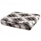 eco dot matrix throw blanket