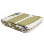 eco paddles throw blanket pistachio
