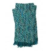 rosa blue & green throw blanket