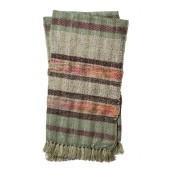 iris collection grey & wine throw blanket