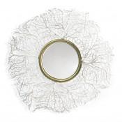 palecek sanibel coral mirror