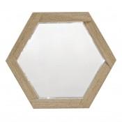 palecek woodside hex mirror