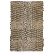 tiles rug, natural/grey/slate