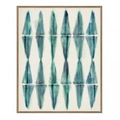 washed pattern giclee