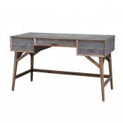 palecek brooks faux shagreen desk