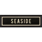 """seaside"" street sign"