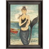 """from pocomoke"" mermaid art"
