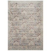 anastasia collection silver & plum rug