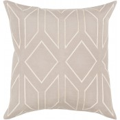 surya skyline taupe pillow