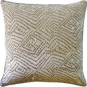 batik dot dune pillow
