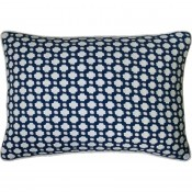 betwixt indigo bolster pillow