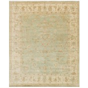 bogart collection aqua & ivory rug
