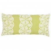pine cone hill french knot citrus decorative pillow double boudoir