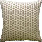 gem velvet beige pillow