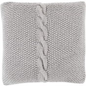 surya genevieve pillow in medium gray