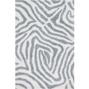 kiara shag collection ivory & grey rug
